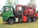Forest & Harvesting Equipment - Used Eschlbock BIBER84 RBZ 2011 Hogger in Romania