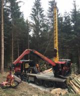 Forest & Harvesting Equipment - Used Konrad 2012 Mobile Cable Crane Romania