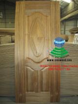 915*2135mm Teak veneered HDF door skin for Iraq