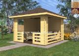 Fir  Kiosk - Gazebo Ukraine