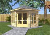 Maisons Bois à vendre en Ukraine - Vend Abri De Jardin Pin  - Bois Rouge Résineux Européens