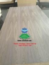 Engineered Panels for sale. Wholesale Engineered Panels exporters - AA grade c/c(crown cut) natural walnut veneered MDF