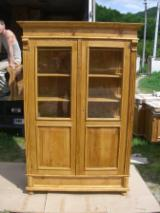 Living Room Furniture - Glass cabinet - on demand