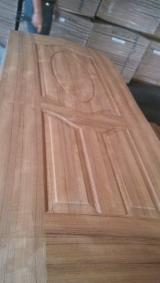 Engineered Panels for sale. Wholesale Engineered Panels exporters - Natural Teak HDF Door Skin