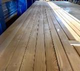批发木材墙面包覆 - 护墙板,木墙板及型材 - 实木, 西伯利亚落叶松, 模制