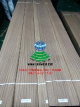 Sliced Veneer - Sapelli  Flat Cut, Plain Natural Veneer China