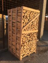 Air dried Spruce / Fir Firewood ; 2 Cubic Metres Crates (Pallets)