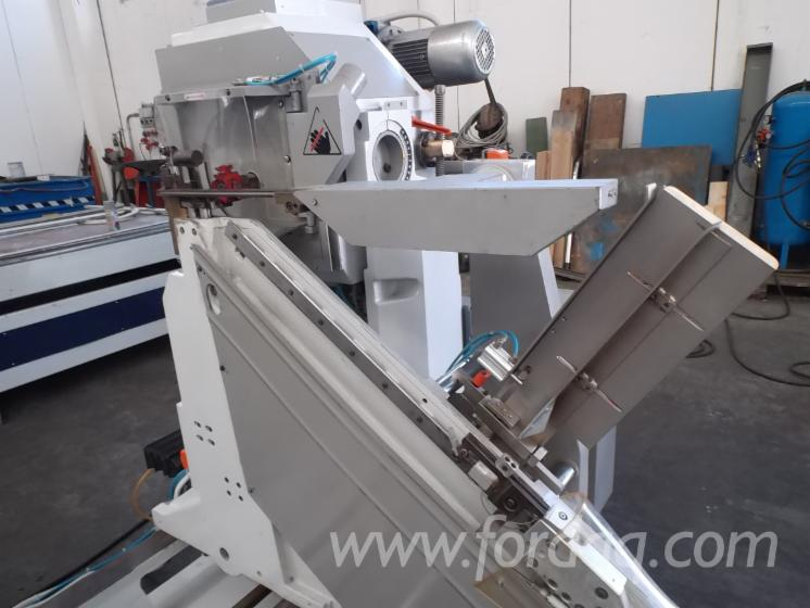 Used BACCI 1999 Double End Tenoning Machine For Sale Italy