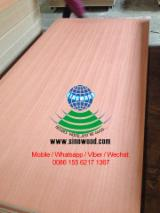 Sapelli/sapele veneered mdf board, sapele/sapelli fancy mdf board