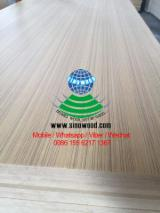 EV teak veneered mdf board, q/c & c/c