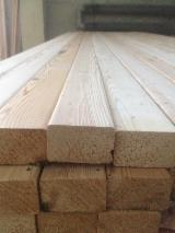 Poland Exterior Decking - Decking Posts from Siberian Larch