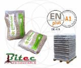 null -  Wood pellets ( 6 mm ) - DIN Plus / EN Plus A1 certified pellets