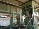 Gebruikt DUMBO 1995 Lintzaag Voor Verticaal Rondhout En Venta Italië