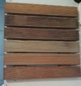 Indonesia Exterior Decking - Garden Decking Tile (Grade A) Ready on Stock