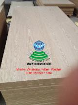 Plywood Supplies - European White Ash AAA, AA, A Fancy (Decorative) Plywood in China
