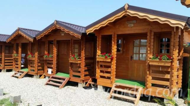 Casute lemn model figa for Case de lemn pret 10000 euro