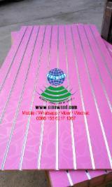 18mm new design melamine mdf board with aluminium bar for suoermarket