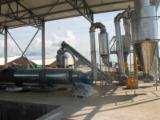 Poultry manure processing line