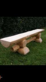 Exporters of Country Garden Benches - Half Bench 200 x 45 x 50 cm