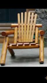 Garden Furniture Country Indonesia - Pine/Teak Garden Chairs