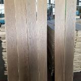 China Engineered Wood Flooring - Oak Parquet Flooring Smoked Brushed and White Oil