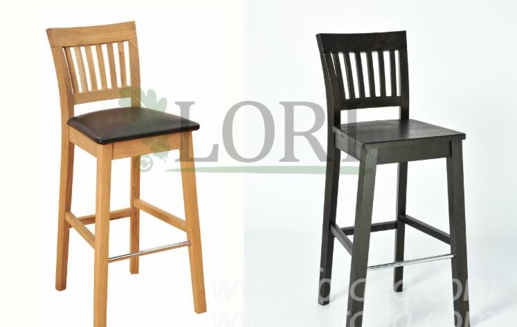 Дубовий барний стілець ЕКХОЛЬМ