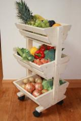 Flower Pot - Planter Garden Products - Stands for fruits and vegetables