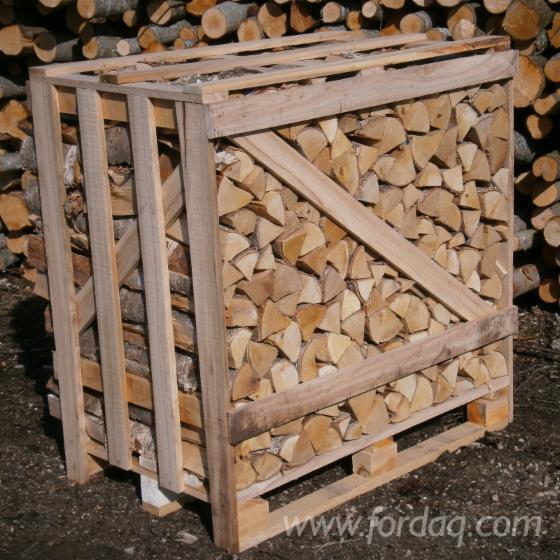 Split firewood beech oak ash hornbeam cm