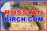 Russian Birch Lumber - KD8% - Select, 1 Common - Delivery to USA, Far East, Europe