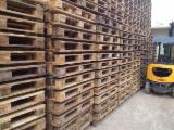 Recycled - Used In Good State  Pallets And Packaging - Recycled - Used In Good State  Euro Pallet - Epal Romania