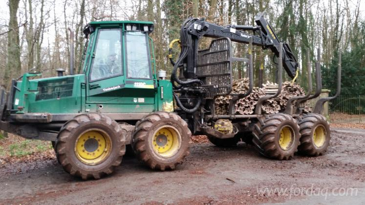 Used-Timberjack-2001-Forwarder