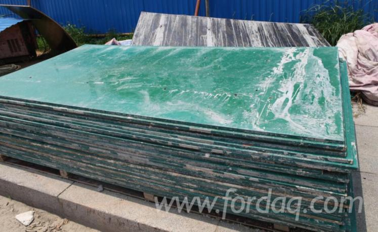 Pp Faced Plywood ~ Pp plastic film faced plywood for construction