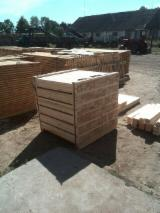 Poland Sawn Timber - 15-200 mm Fresh Sawn All Coniferous Planks (boards)  from Belarus