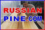Russian Pine Lumber, KD20, 47/50/63/75 X 125/150/175/200 X 4000-6000 mm