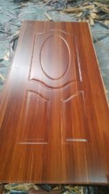 Engineered Panels for sale. Wholesale Engineered Panels exporters - HDF Door Skin /Melamine Laminated HDF Door Skin
