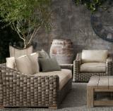 Garden Furniture - Aland Collection - Poly Rattan Sofa Set - RASF 125
