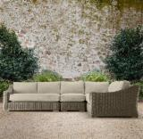 Garden Furniture - Aland Collection - Poly Rattan Sofa Set - RASF 126