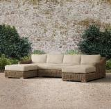 Garden Furniture - Aland Collection - Poly Rattan Sofa Set - RASF 127