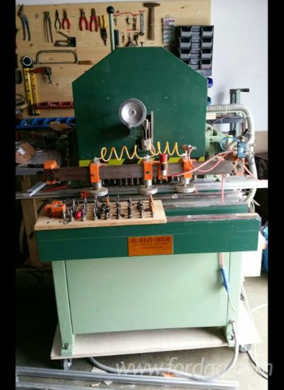 Used-Schleicher--1991-Universal-Multispindle-Boring-Machines-For-Sale-in