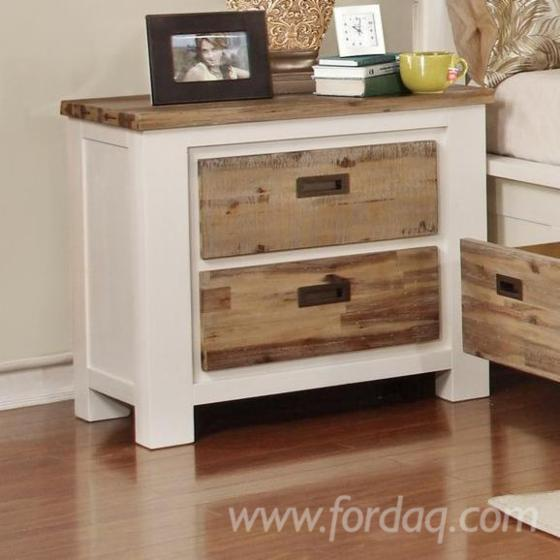 Bn Br 11 Chest With 5 Drawers And Two Tone Wood Finish