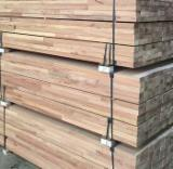 Exterior Decking  - Fingerjoint laths of tropical wood, legths up to 6 m long