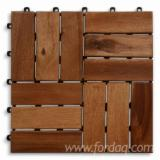 Anti-Slip Decking  Exterior Decking - Acacia wood decking tile