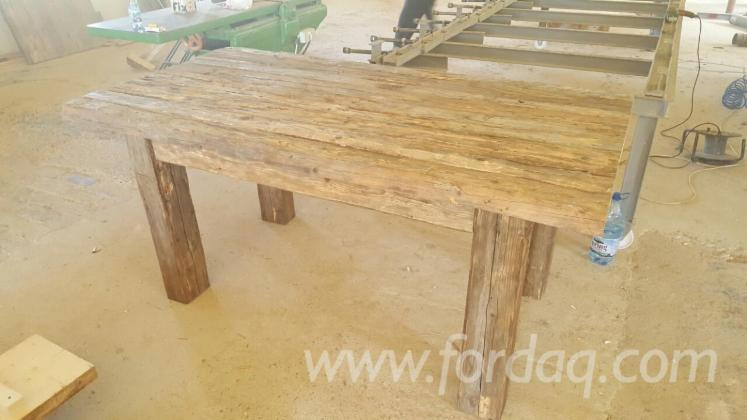 Wholesale Country Fir (Abies Alba) Dining Tables Romania