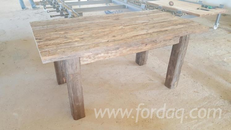 Country Fir (Abies Alba) Dining Tables Romania
