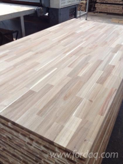 Wood laminated acacia panels for Laminate floor panels