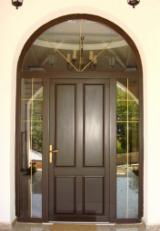 Двері, Вікна, Сходи - Хвойні, Двері, Ялина (Picea Abies) - Біла