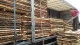 Hardwood  Unedged Timber - Flitches - Boules - European White Ash Loose in France