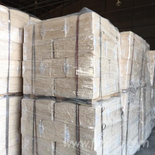 Sawdust block briquets wood briquettes
