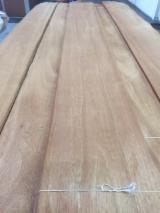 Sliced Veneer For Sale - Mahogany Flat Cut, Figured Natural Veneer Spain