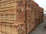 Hardwood  Unedged Timber - Flitches - Boules - Unedged beech timber - unsteamed and fresh B/Cgrade